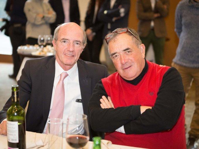 Joaquín Creixel y Rubén Treviño