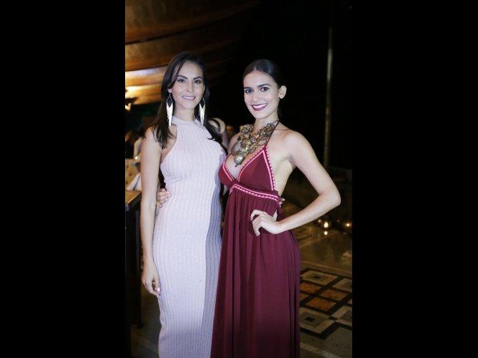 Elsa Ortiz y Giovanna Salazar