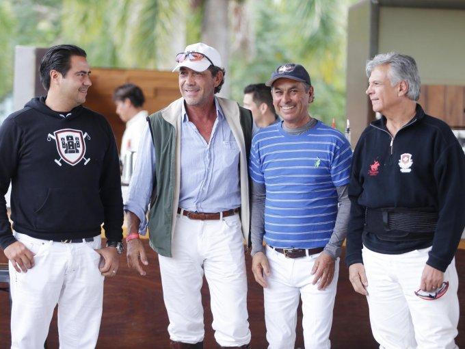 Érick Cornejo, Francisco Amaro, Valerio Aguilar y Octavio Lama