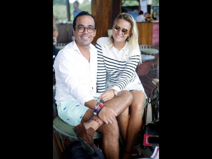 José Colorado y Claudia van Schijndel