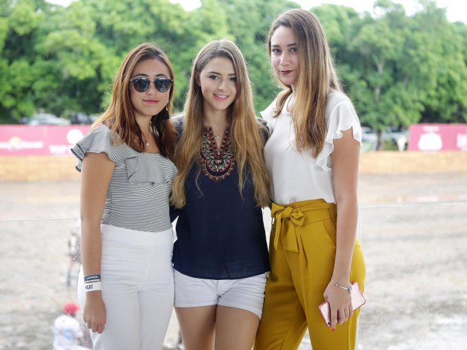 Salma de Loera, Paulina Vargas y Johaly Berumen