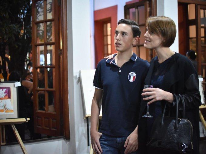 Adrián Carbonell y Gabriela Carbonell