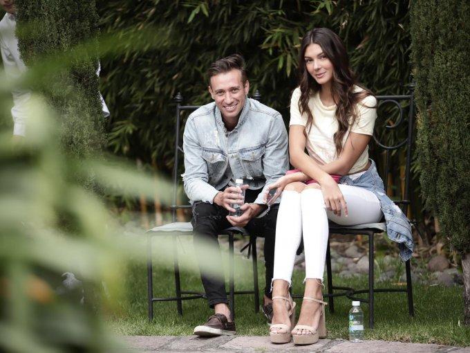 Junior Crichi y Daniela Oliveira