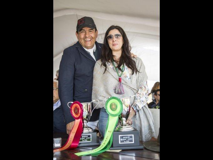 Carlos Mandujano y Mariana Alva