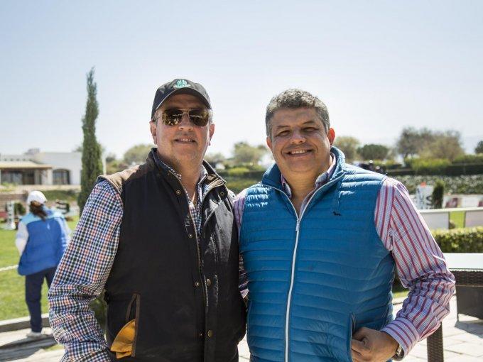 Jorge Berganza y Aldo Díaz