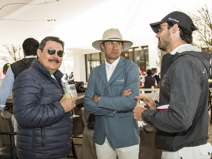Alberto Castillo, Joaquín Matienzo y Juan Pablo Castillo