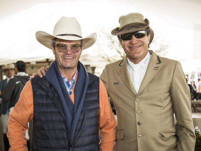 Bernardo Maurer y Jaime Azcárraga