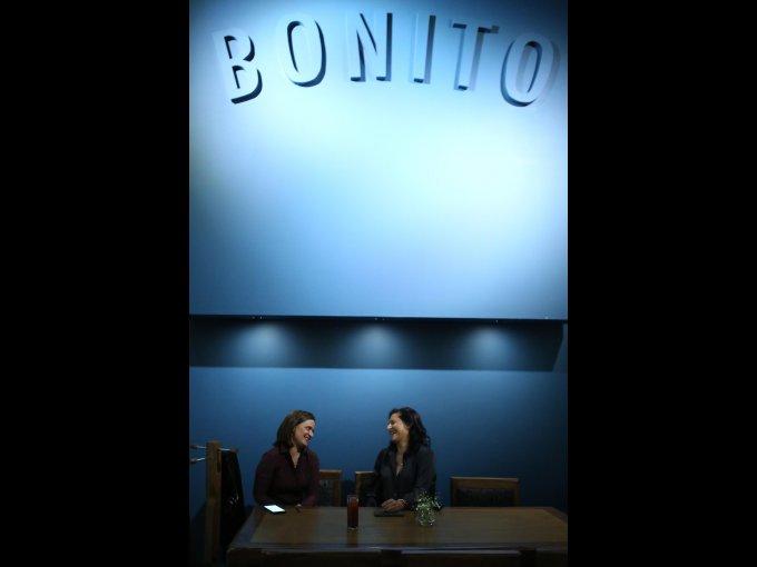 Blanca Romero y Fátima Pinhao