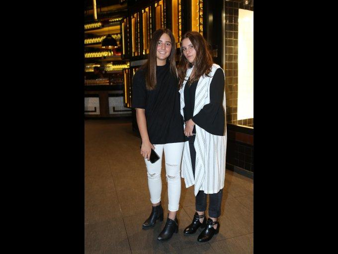 Marina Orraca y Carlota Lebrija