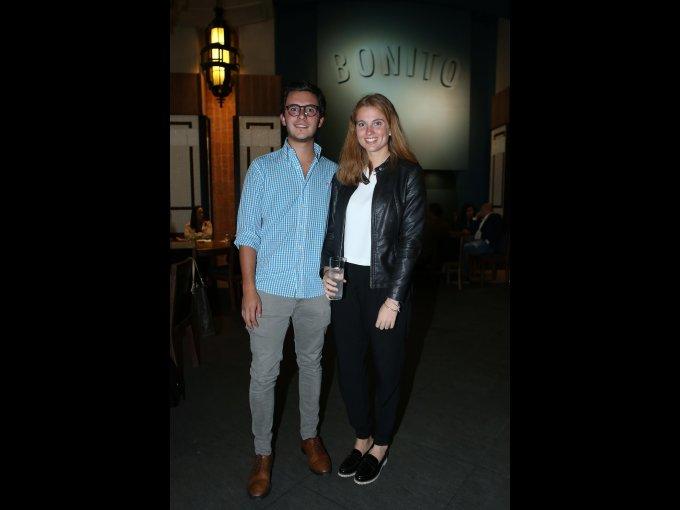 Santiago Navarro y Rocío Garritz