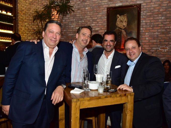 Alex Olhovich, Pedro Villalobos, Luis Narchi y Luis Núñez