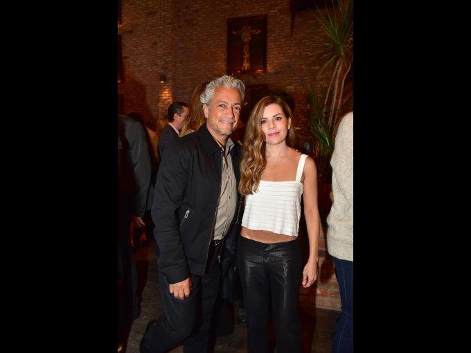 Arturo Velasco y Lorena Balderas
