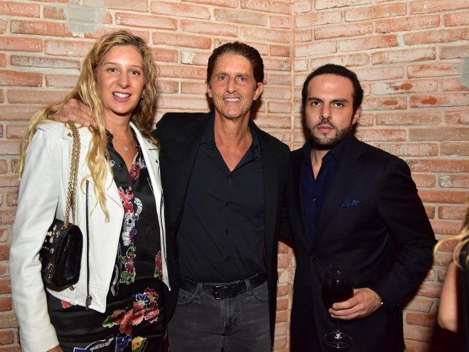 Tania Grinberg y Arturo Grinberg con Alfredo Schekaiban