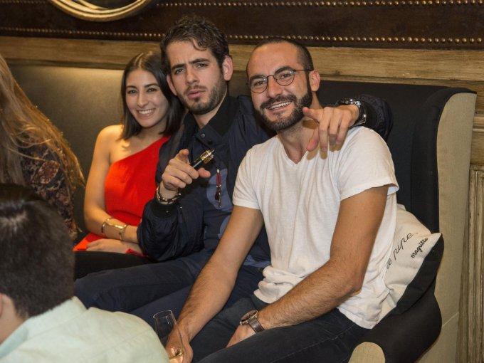 Carla Ruiz, Alejandro Guízar y Ander Belausteguigoitia