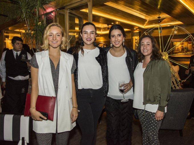 Claudia Reyes Heroles, Ana Rivera, Natalia Solorzano, Ale Zamora