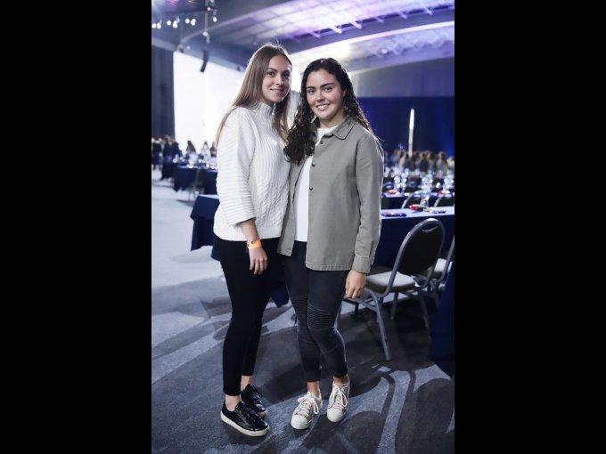 María José Báez y Pamela Arcos