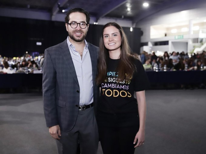 Rodrigo y Paola Amodio