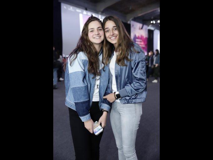 Nicole Ugalde y María José Picazo