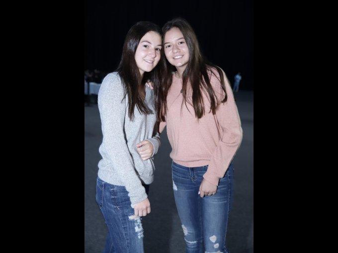 Lorenza Barrera y Lucía Sánchez