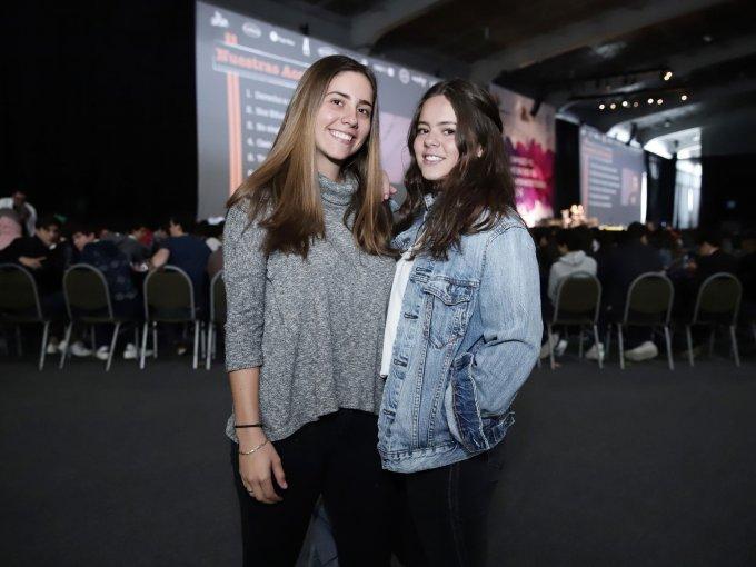 Natalia Catalá y Ana Gaby Azcárraga