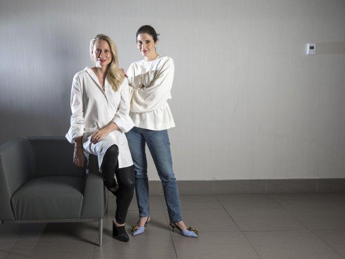 Samantha Tams y Estefanía Lacayo