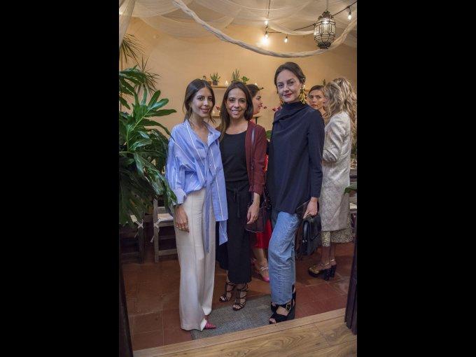 Vita Sofía Romo, Andrea Navarro y Brenda Díaz de la Vega
