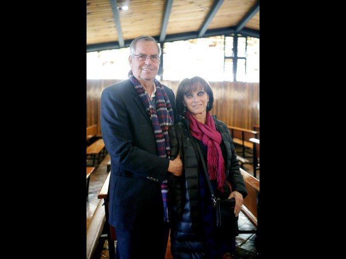Jorge Kaftanski y Marianne Kaftanski