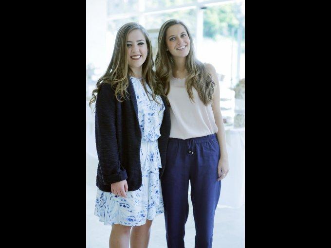 Michelle Quintana y Ana Cecilia Corral