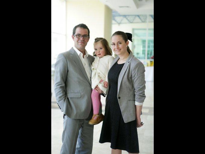 Daniel López, Carlota López y Amalia Sony