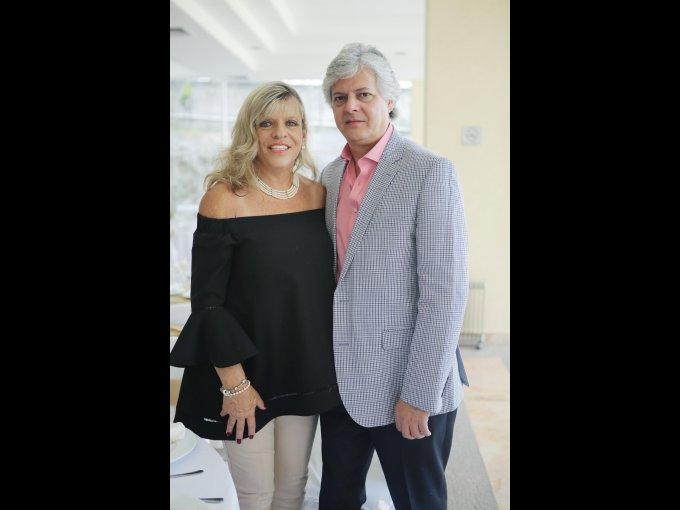 Cecilia Steta y Adrián Corral