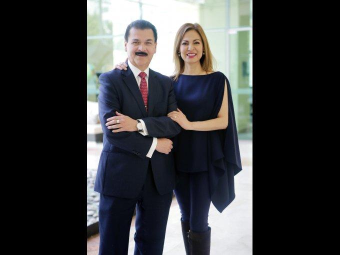 Gerardo Chávez y Yamel Guerra