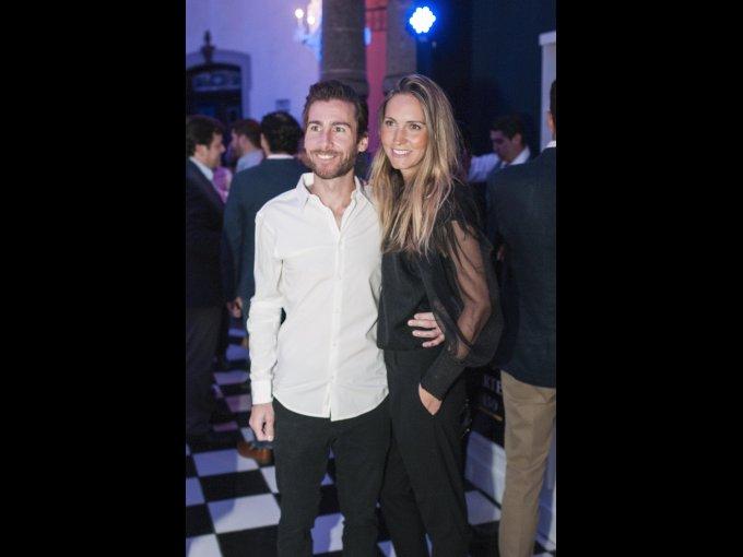 Laurent Jullien y Oriana Rodríguez