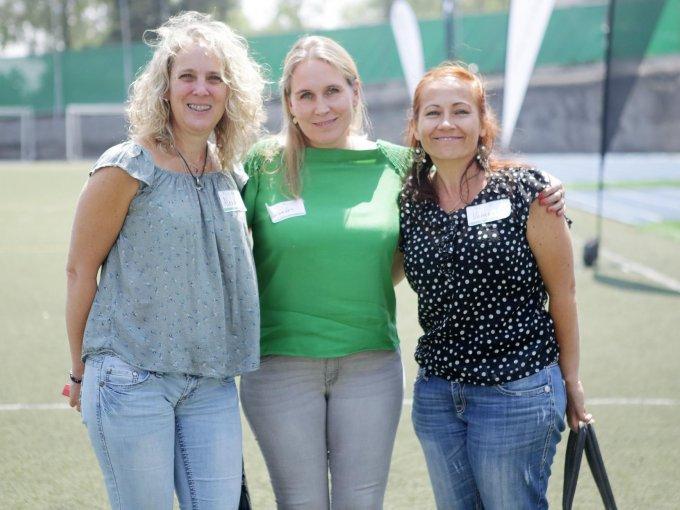 Alexandra Loffler, Alexandra Lubbers y Vanessa Stoehr