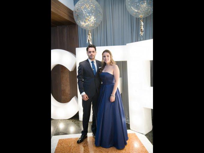 David Chavero y Sofía Hernándezx