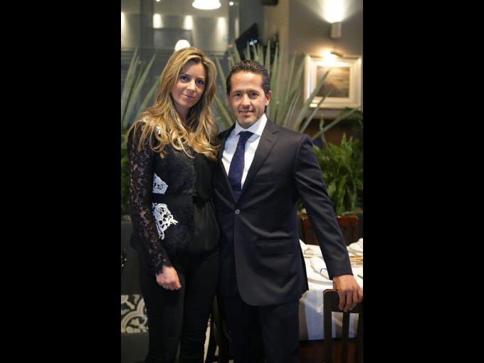 Yalinne Rossell y Luis Islas