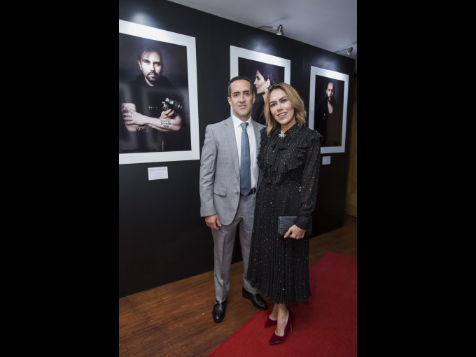 Mariano Lagos y Raquel Orozco
