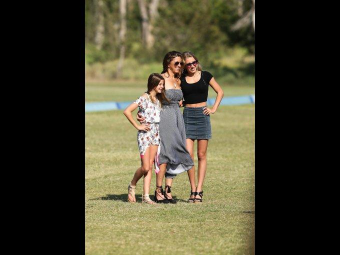 Siena Falk, Katie Falk y Sydney Falk