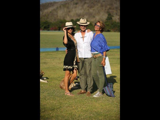 Raquel Saldarriaga, Alberto Ardissone y su esposa Katy Ardissone