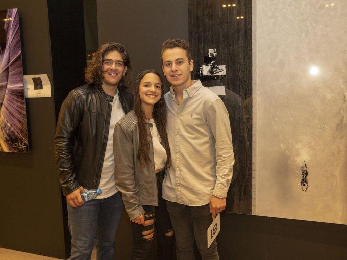 Eduardo Cherem, Tania Harari y Daniel Levy