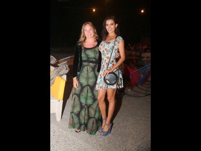 Lola Sáenz de Miera y Giovanna Salazar