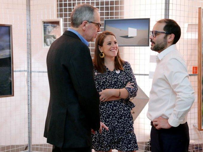 Luis Rubio, Fernanda Ballesteros y Rodrigo Sánchez