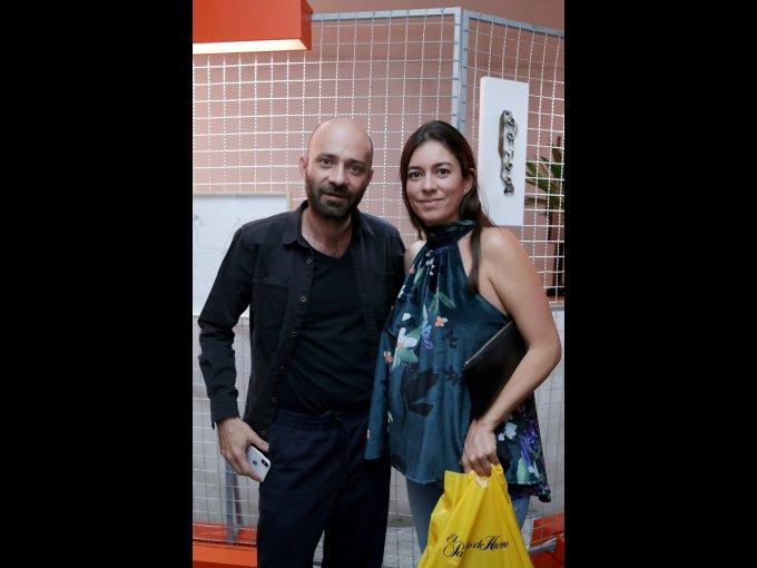 Francisco Pardo y Ana Paula Lavín