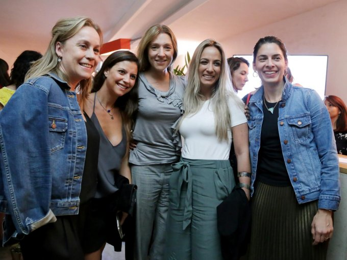 Kitzia De Spa, Mercedes de Teresa, María Ariza, Paula Arango y Mariana Mazón