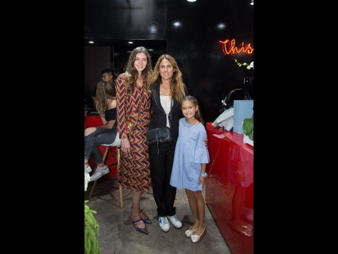 María Contreras, Ericka Basave y Juliana Cobo