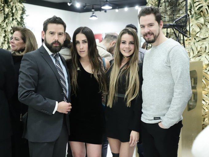 Marco González, Mariana Holm, Johanna Vallejo y Antonio Nuño