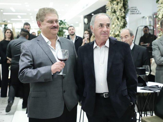 Alberto Holm y José Antonio Lebrija