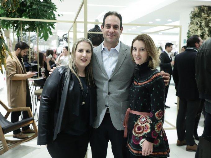 Galia Puszkar, Eduardo Kasin y Renata González