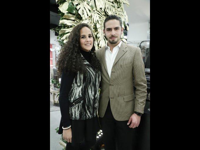 Fernanda Manzano y Arturo Pascual