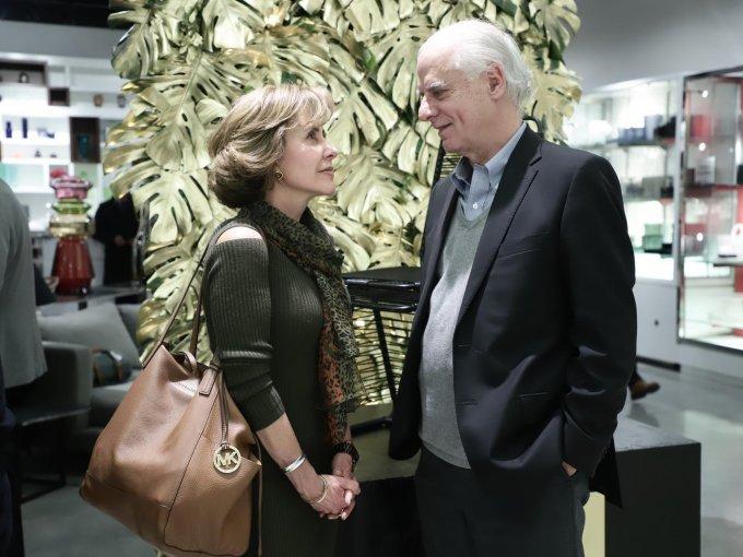 Carmen Mestre y Teodoro Harrsch