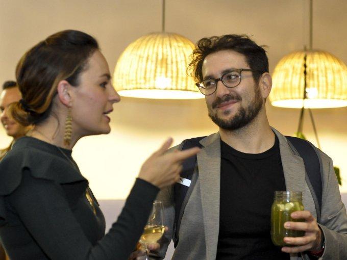 Alejandra de la Cerda y Claudio Sarmiento